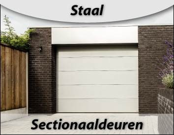 sectionaaldeuren staal