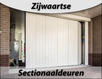 sectionaaldeurzij waarts